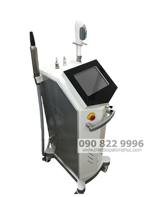 Máy Triệt Lông OPT + Laser 2in1