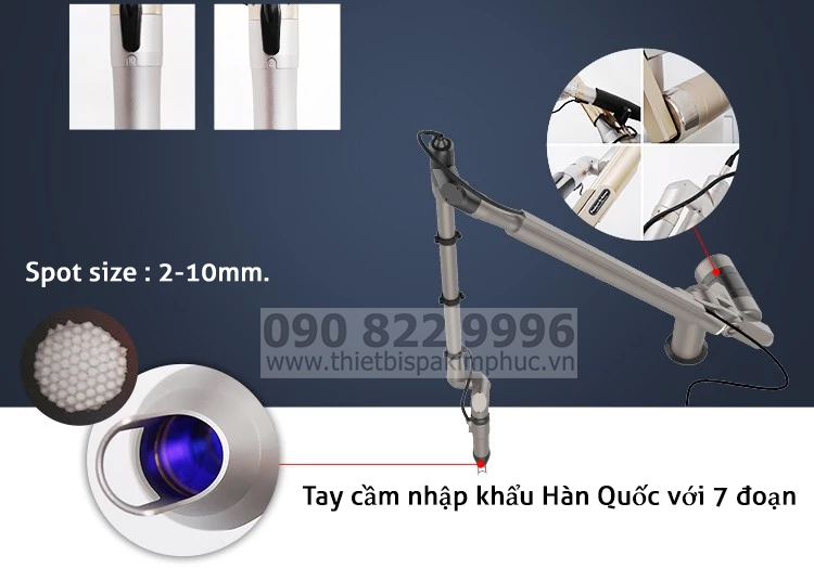 Tay cầm trục khuỷu Máy Laser Picosecond Q-Switched ND SP-2
