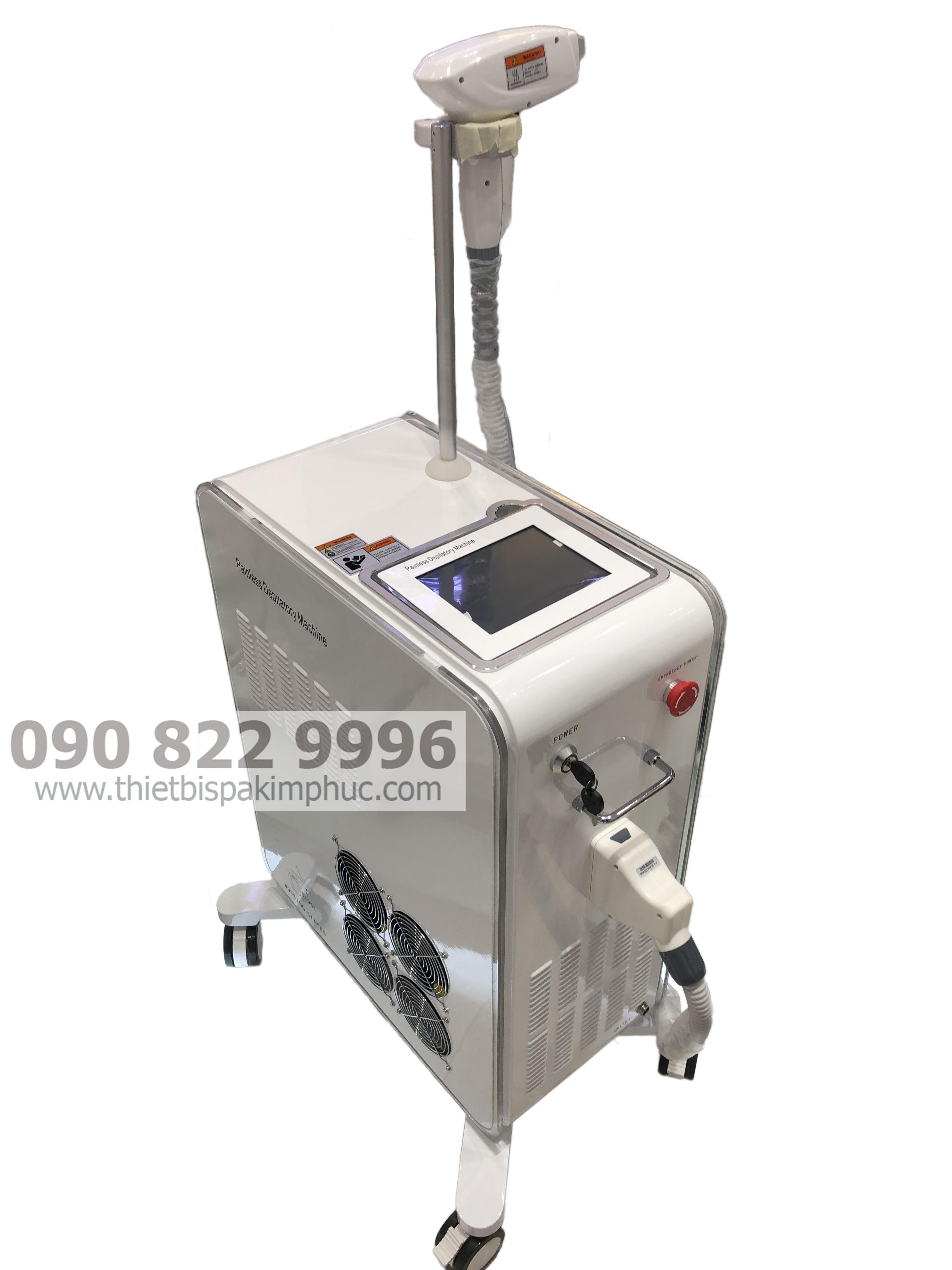 Máy Triệt Lông Laser Diode 808nm