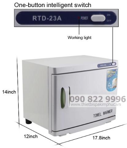 Tủ Hấp Khăn1 Tầng RTD-23A