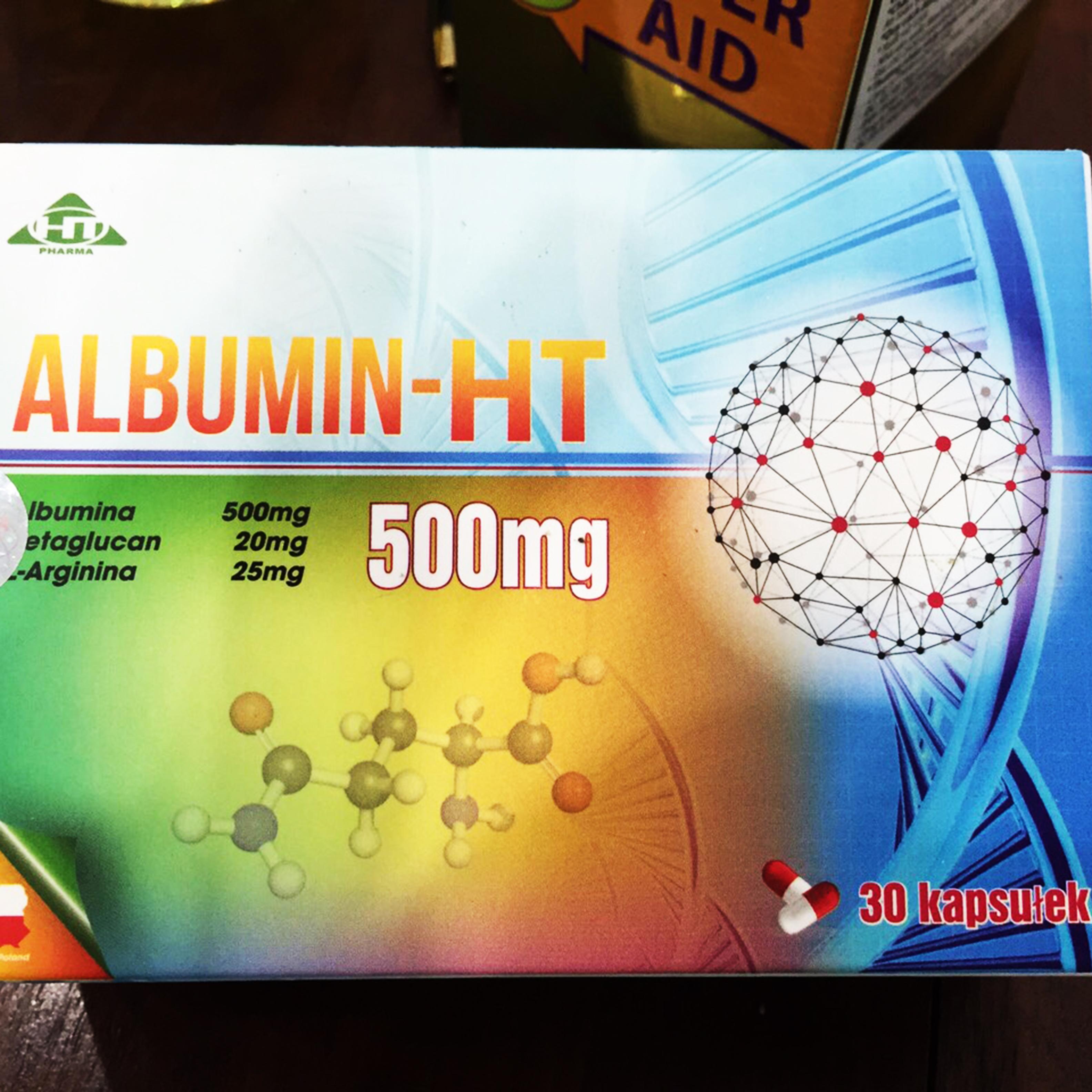 ALBUMIN HT bổ sung albumin protein Acid amin