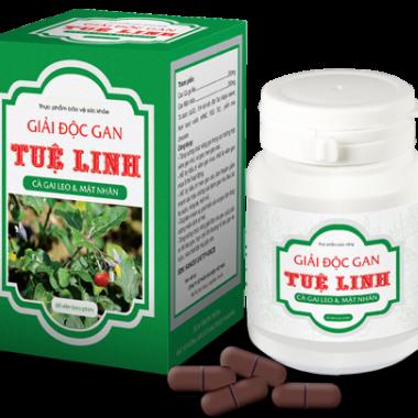 Thực phẩm bảo vệ sức khỏe giúp thanh nhiệt, bảo vệ gan  Giải Độc Gan Tuệ Linh (60 viên/hộp)