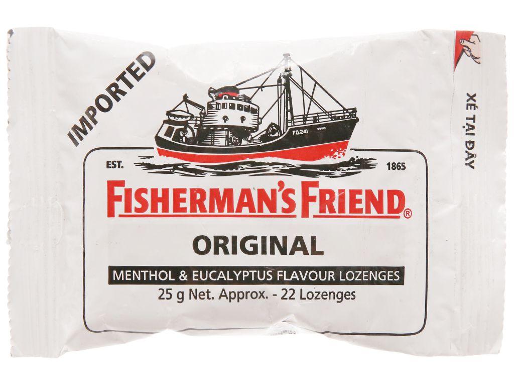 Kẹo Cay Con Tàu Fisherman's Friend Vị Khuynh Diệp