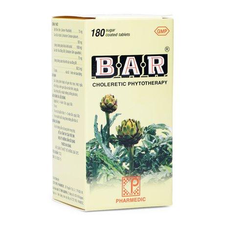 Thuốc lợi gan mật Bar