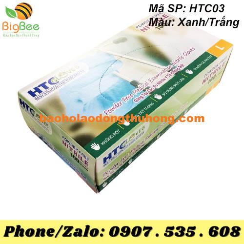 GĂNG TAY Y TẾ NITRILE HTC GLOVES