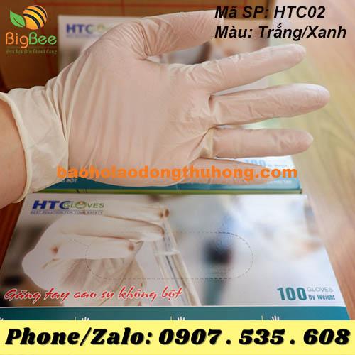 GĂNG TAY Y TẾ KHÔNG BỘT HTC GLOVES
