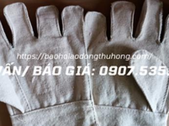Cung cấp bao tay vải bạt giá cạnh tranh cực shock