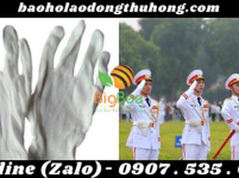 TÌM NƠI MUA GĂNG TAY THUN TRẮNG PE, FREESHIP TOÀN QUỐC