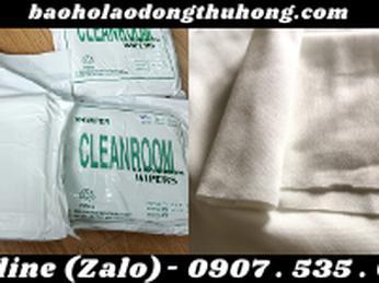 Khăn lau phòng sạch clean room không bụi, chống tĩnh điện