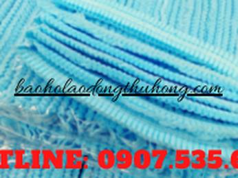 Cung cấp sỉ lẻ mũ trùm tóc con sâu xanh dùng trong phòng sạch