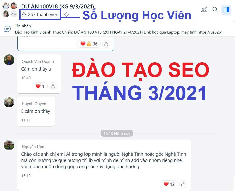 Đào Tạo SEO TPHCM, Bình Dương, Đồng Nai & Tất cả tỉnh thành tại VN☑️☑️