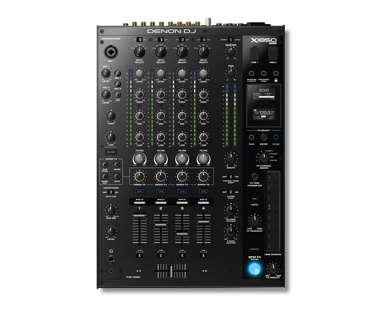 Mixer DJ X1800 - Bộ hòa trộn âm thanh hiện đại nhất thế giới