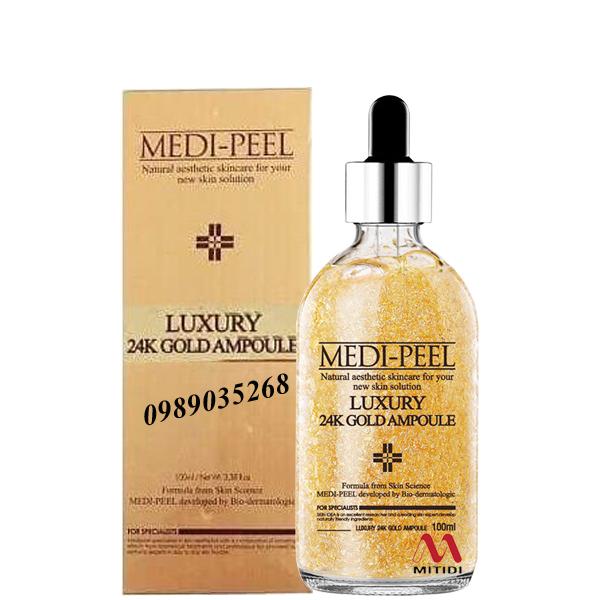 Tinh chất vàng 24k Medi Peel Luxury 24K Gold Ampoule