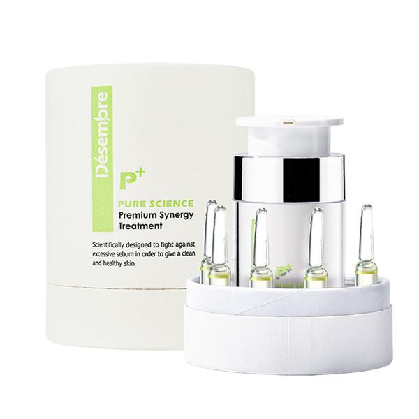 Bộ kem dưỡng cho da dầu mụn Désembre Pure Science Premium Synergy Treatment