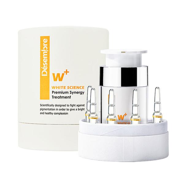 Bộ kem dưỡng trắng da Désembre White Science Premium Synergy Treatment
