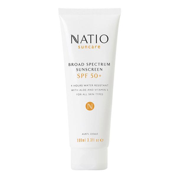 Kem chống nắng Natio Broad Spectrum Sunscreen SPF 50+