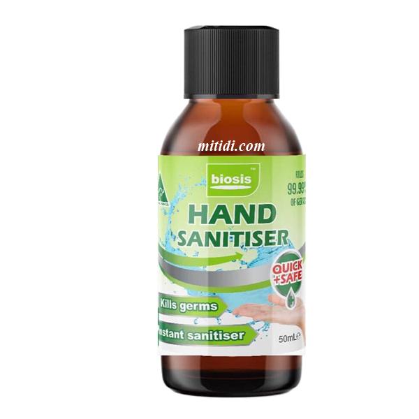 Nước rửa tay khô của Úc Biosis Hand Sanitiser