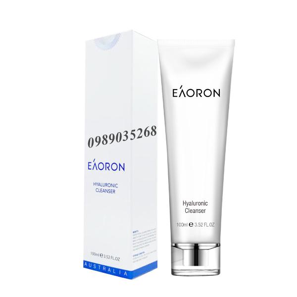 Sữa rửa mặt Eaoron Hyaluronic Cleanser