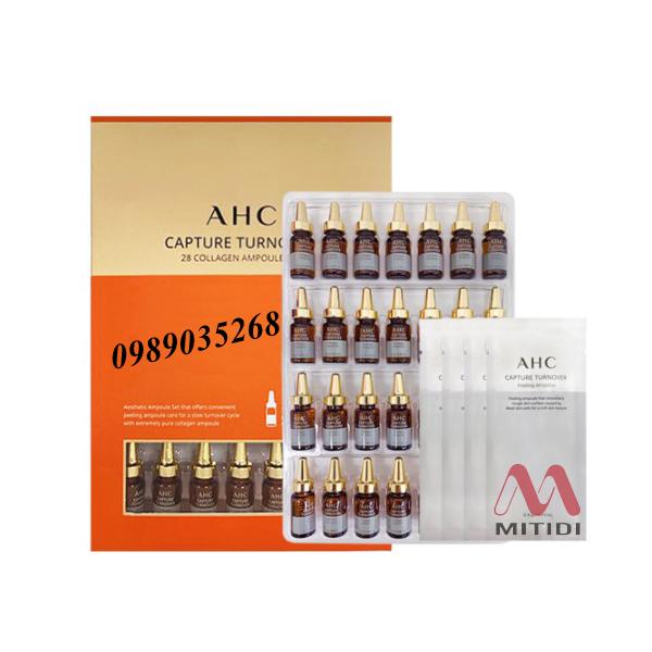 Tinh chất collagen AHC Capture Turnover 28 Collagen Ampoule Set