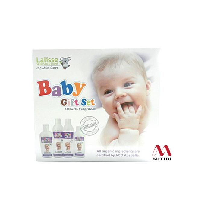 Bộ dưỡng da cho em bé Lalisse Gentle-Care Gift Set