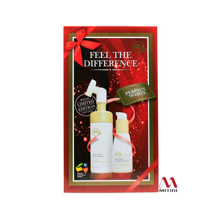 Bộ kem dưỡng trắng da Skin Nutrient Perfect White Laser Whitening Cream