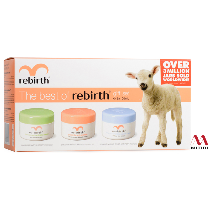 Bộ kem nhau thai cừu The Best of Rebirth Gift Set
