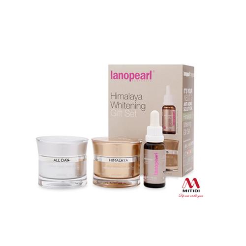 Kem trị nám và làm trắng da Lanopearl Himalaya Whitening Gift Set