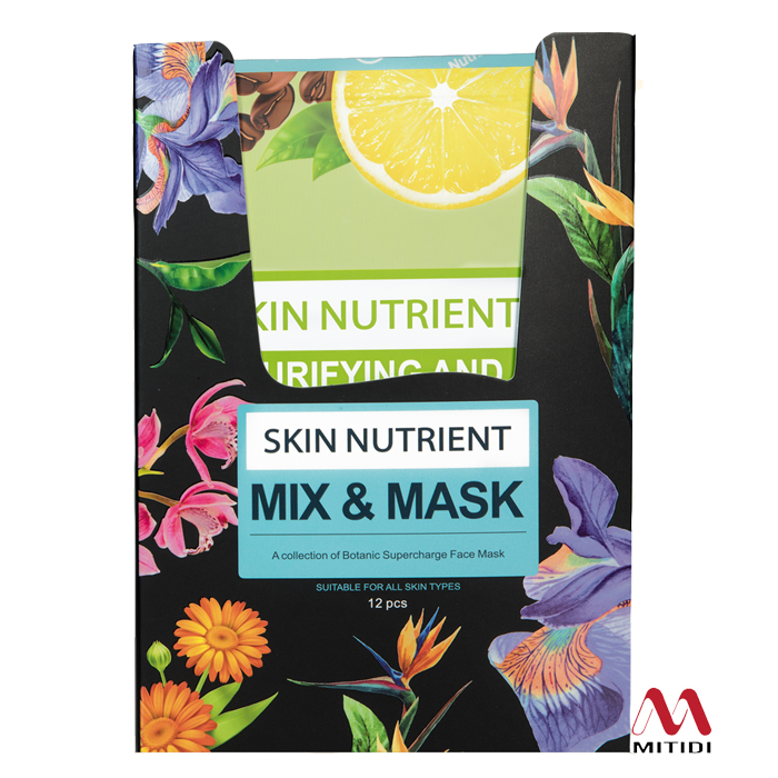 Bộ mặt nạ Skin Nutrient Mix and Mask Variety Kit
