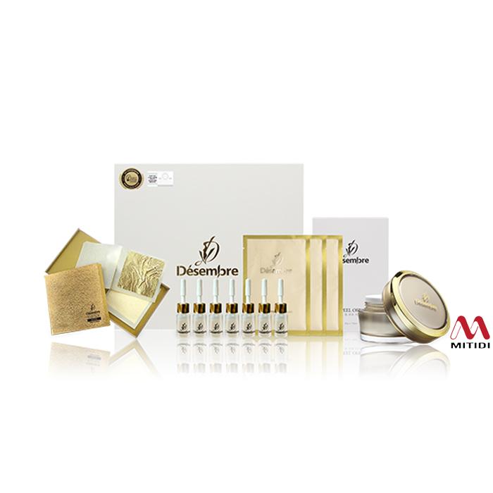 Bộ mặt nạ vàng lá 24k Luxury Gold Therapy