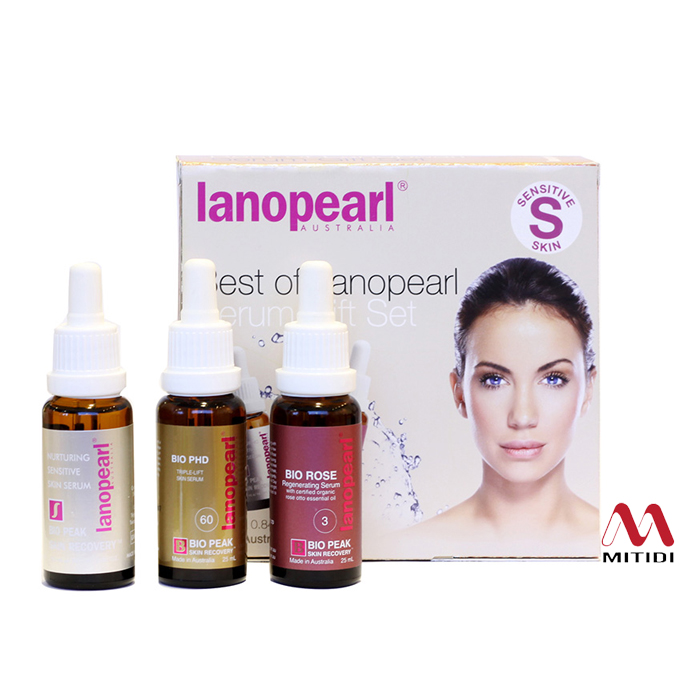 Bộ Serum Best Of Lanopearl Serum Gift Set