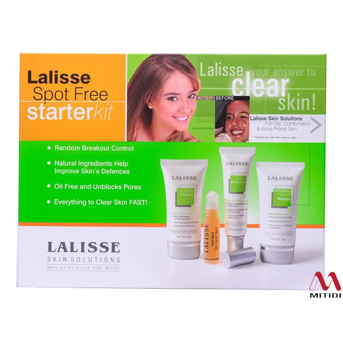 Bộ trị mụn Lalisse Spot Free Starter Kit