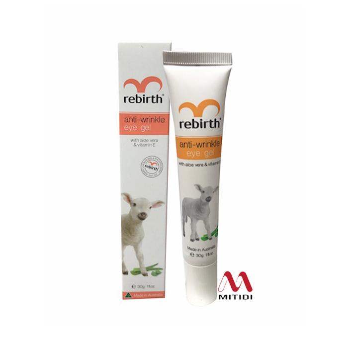 Gel dưỡng mắt Rebirth Anti Wrinkle Eye Gel with Vitamin E