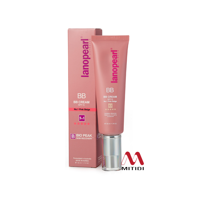 Kem che khuyết điểm BB Cream Lanopearl No.1 Pink Beige