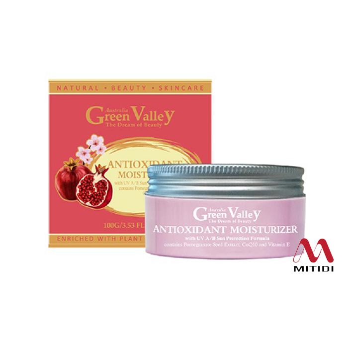 Kem dưỡng ẩm chống oxy hóa Green Valley Antioxidant Moisturizer