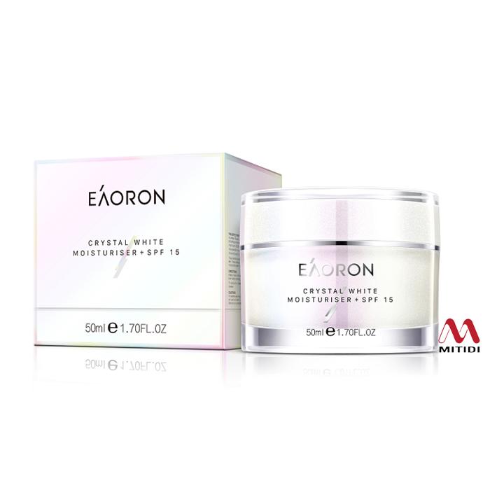 Kem dưỡng ẩm trắng da Eaoron Crystal White Moisturiser +SPF15