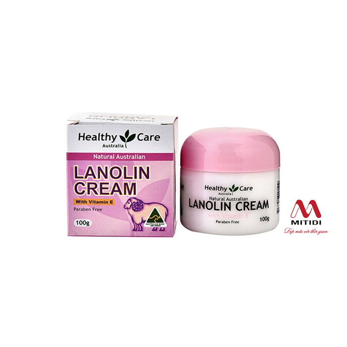 Kem cừu Healthy Care LANOLIN CREAM with Vitamin E