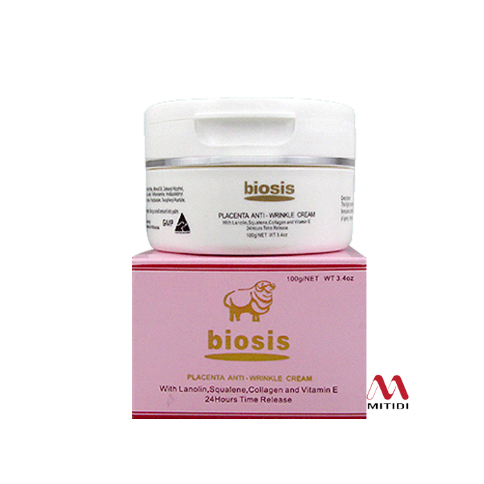 Kem nhau thai cừu Biosis Lanolin Cream with Placenta
