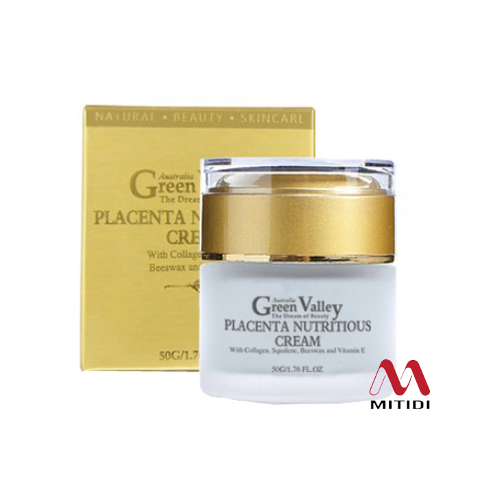 Kem nhau thai cừu Green Valley Placenta Nutritious Cream