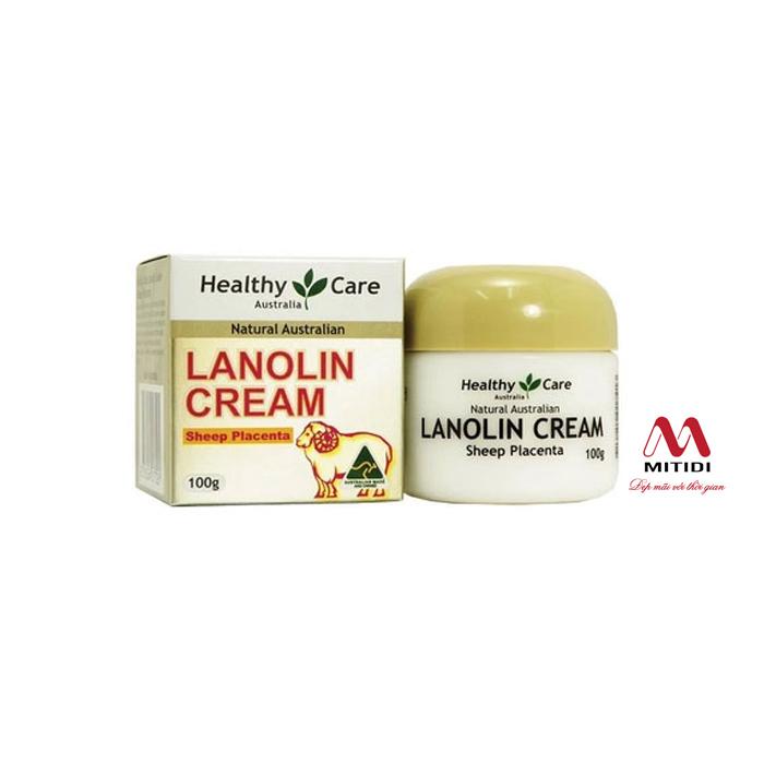 Kem nhau thai cừu Healthy Care Lanolin Cream Sheep Placenta