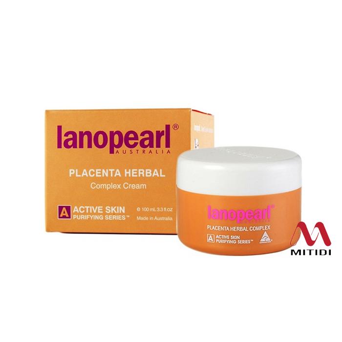 Kem nhau thai cừu Lanopearl Placenta Herbal Complex Cream