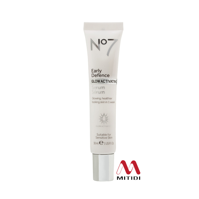 Serum dưỡng da  No7 Early Defence Glow Activating Serum dành cho 20-30 tuổi