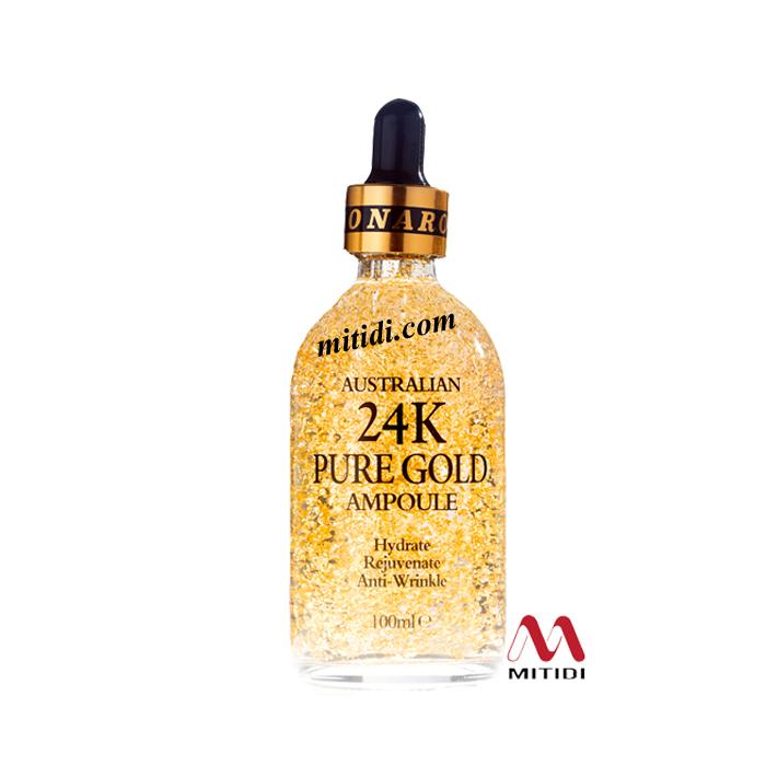 Serum tinh chất vàng 24k Pure Gold Ampoule Naro chống nhăn da