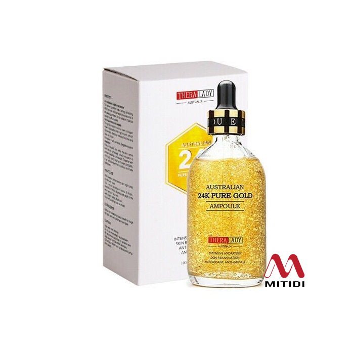 Serum tinh chất vàng 24K Pure Gold Ampoule Thera Lady