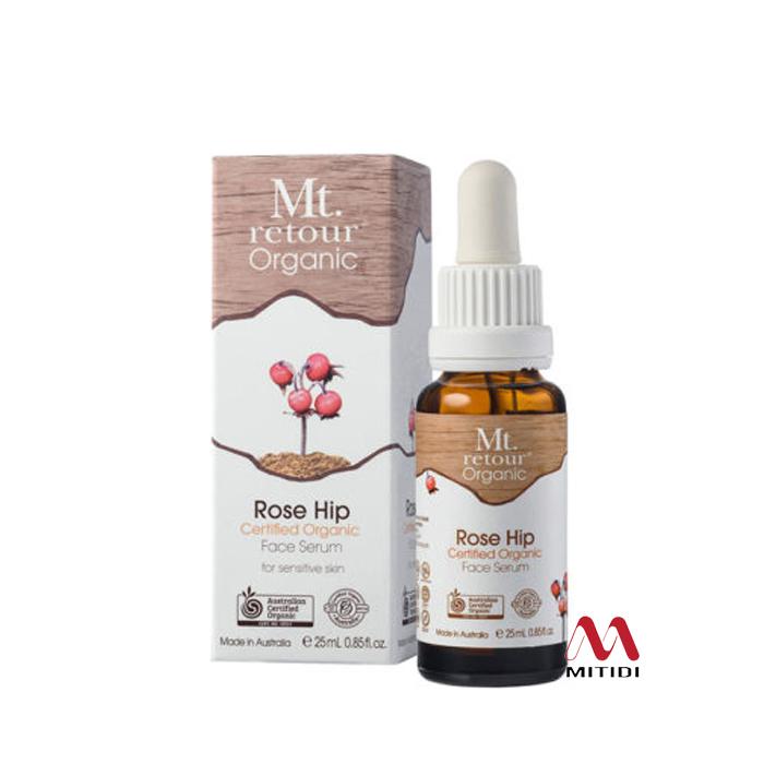Serum tinh dầu Rosehip Certified Organic Rose Hip Face Mt Retour