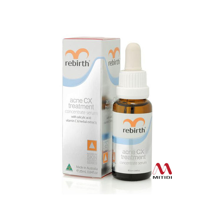 Serum trị mụn Rebirth Acne CX Treatment Concentrate