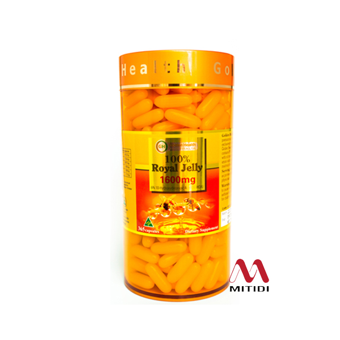 Sữa ong chúa Royal Jelly 1600mg Golden Health