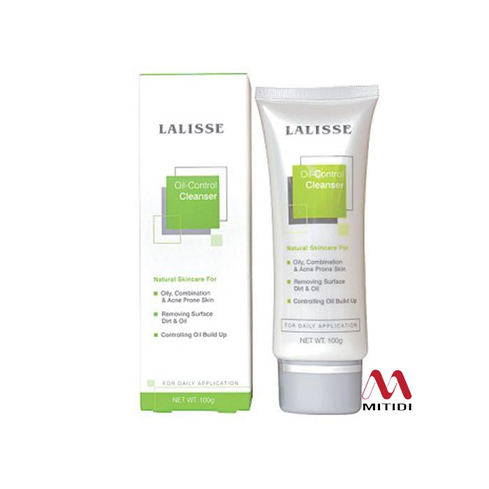 Sữa rửa mặt Lalisse Oil Control Cleanser cho da dầu, hỗn hợp, mụn