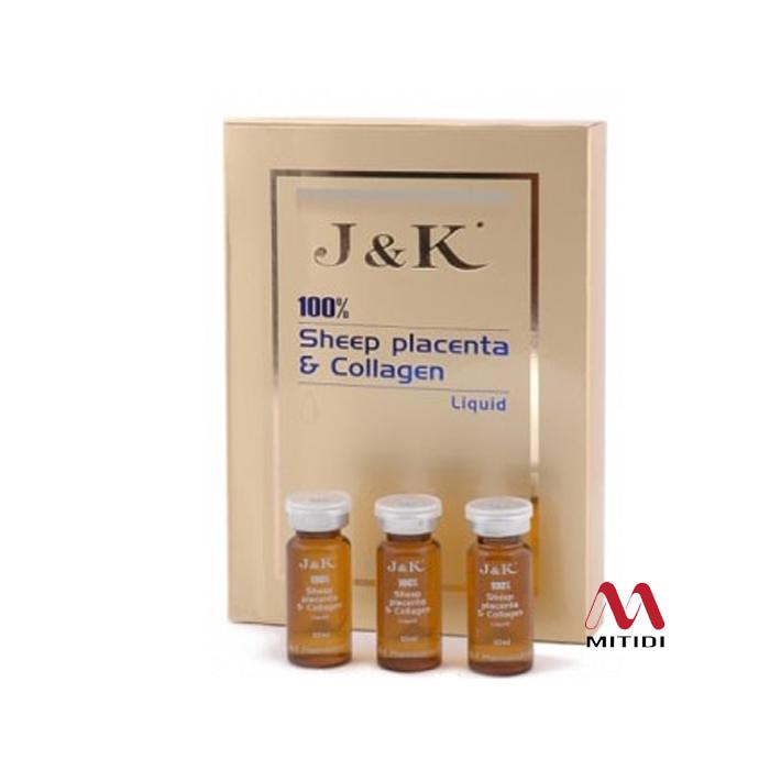 Tế bào gốc nhau thai cừu Placenta & Collagen J&K của Úc