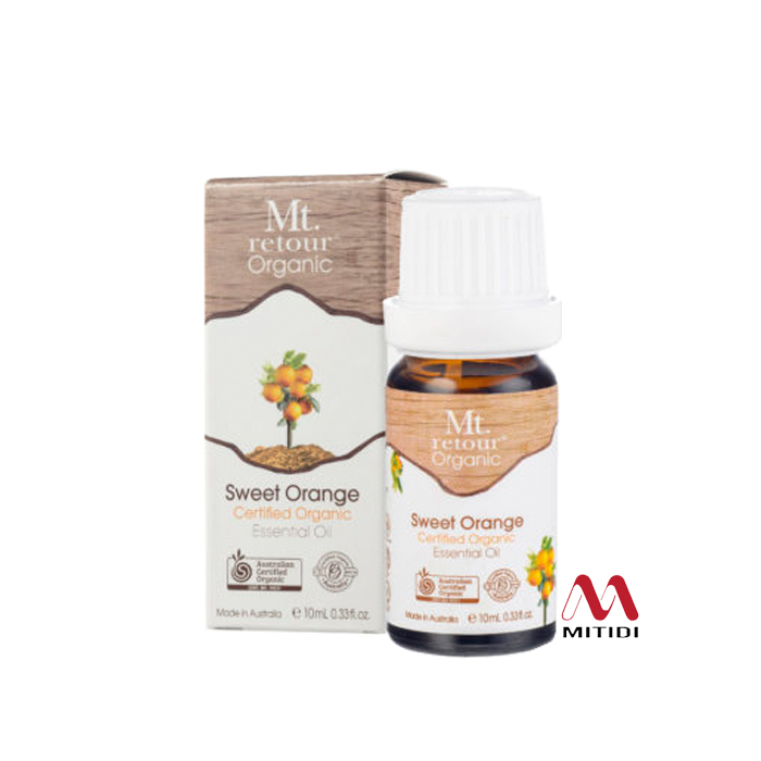 Tinh dầu cam ngọt Sweet Orange Certified Organic Essential Oil Mt.retour