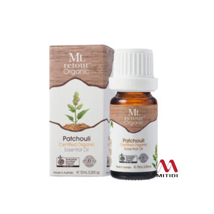 Tinh dầu hoắc hương Patchouli Certified Organic Essential Oil Mt retour